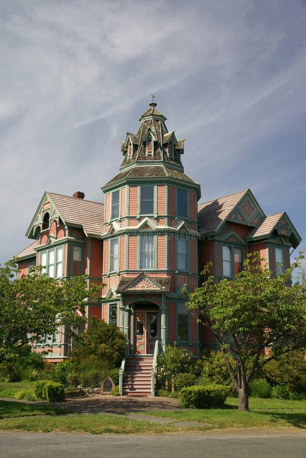 Vieille maison victorienne images stock