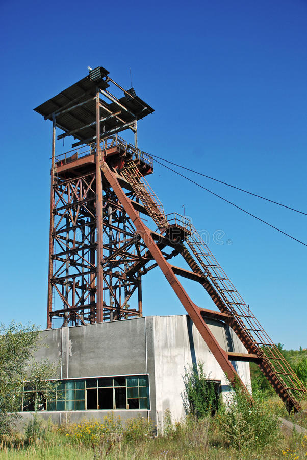 Vieille mine images libres de droits