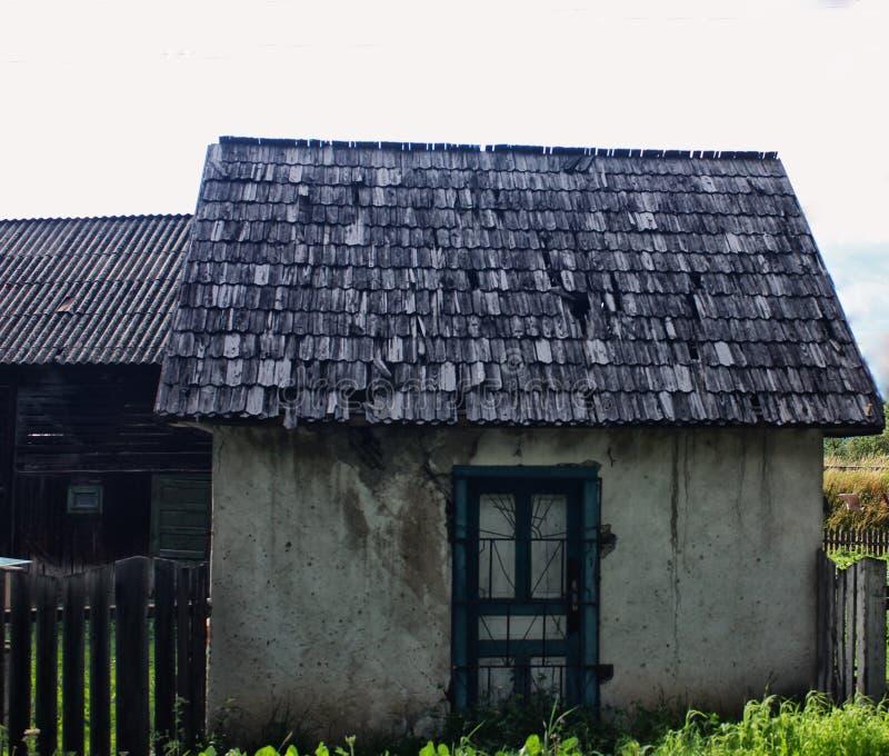 Vieille mini maison images libres de droits