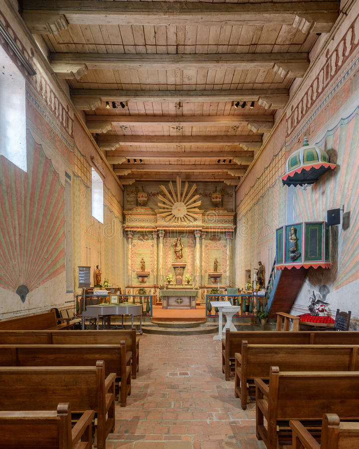 Download Vieille mission San Miguel photo stock éditorial. Image du église - 77159978