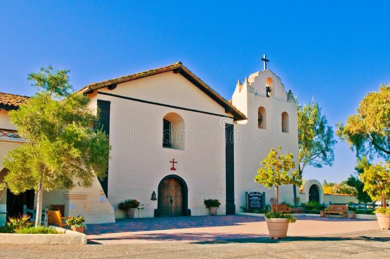 Vieille mission Santa Inés (Ynez) photographie stock libre de droits