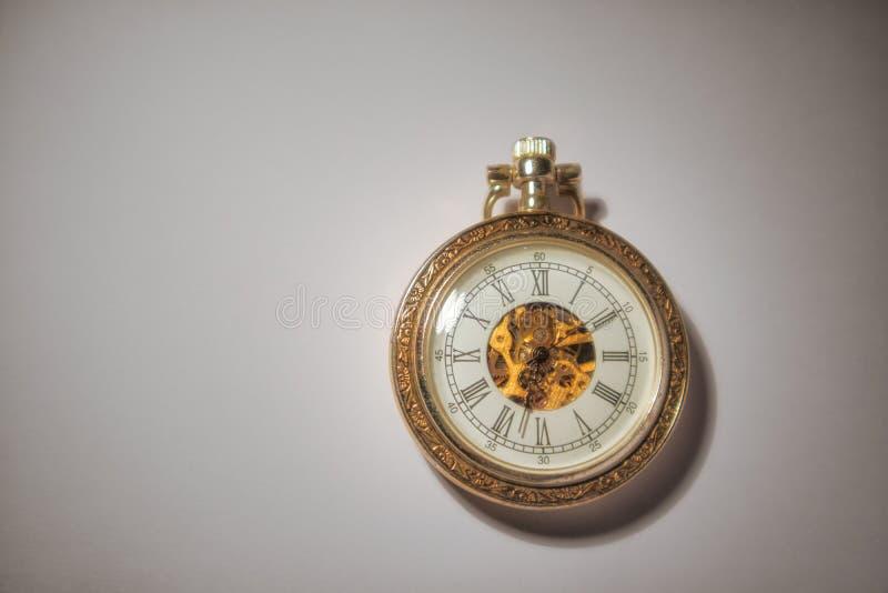 Vieille montre de poche photos libres de droits