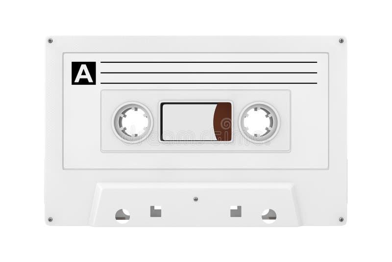 Vieille moquerie de bande de cassette sonore de cru en Clay Style rendu 3d illustration libre de droits