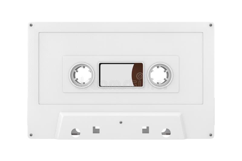 Vieille moquerie de bande de cassette sonore de cru en Clay Style rendu 3d illustration stock