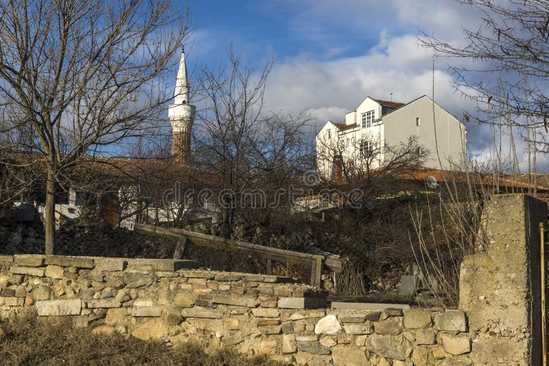 Vieille mosqu?e au centre de, ville de Hisarya, r?gion de Plovdiv, Bulgarie photographie stock libre de droits