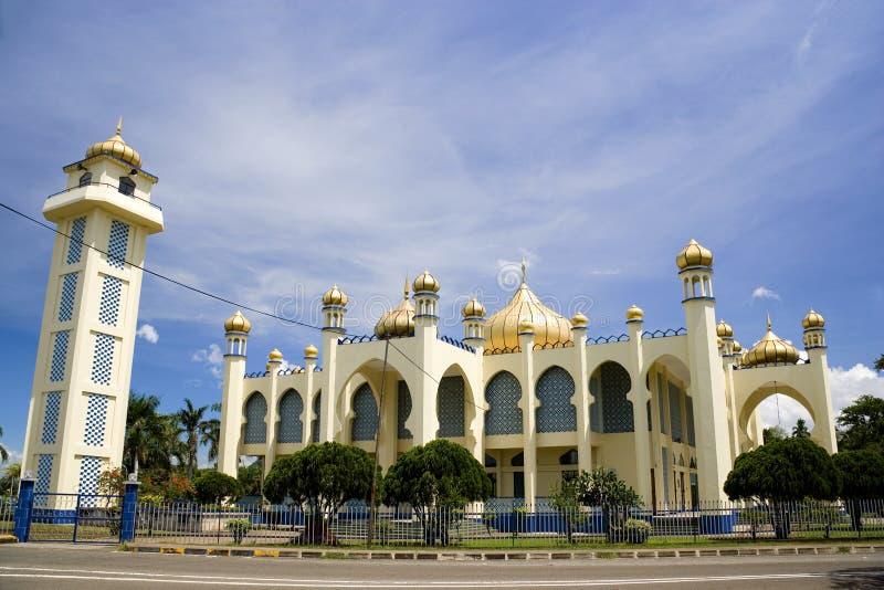 Vieille mosquée de petite ville photos libres de droits