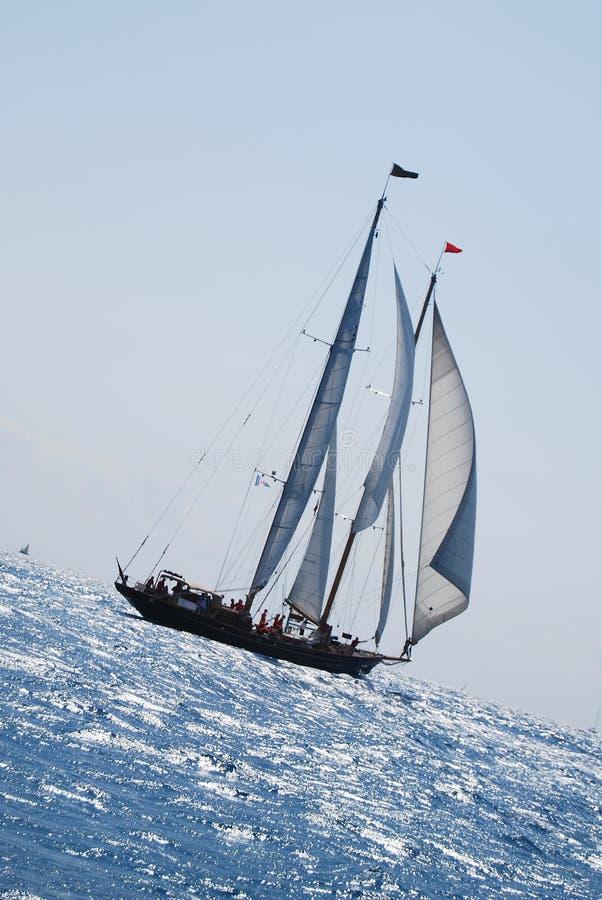 vieille navigation de bateau images libres de droits