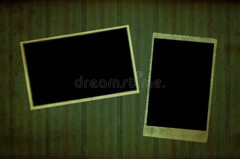 Vieille page d'album photos photo stock