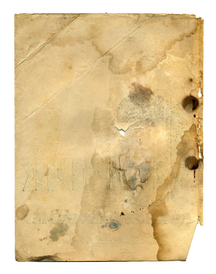 Vieille page de livre antique photo libre de droits