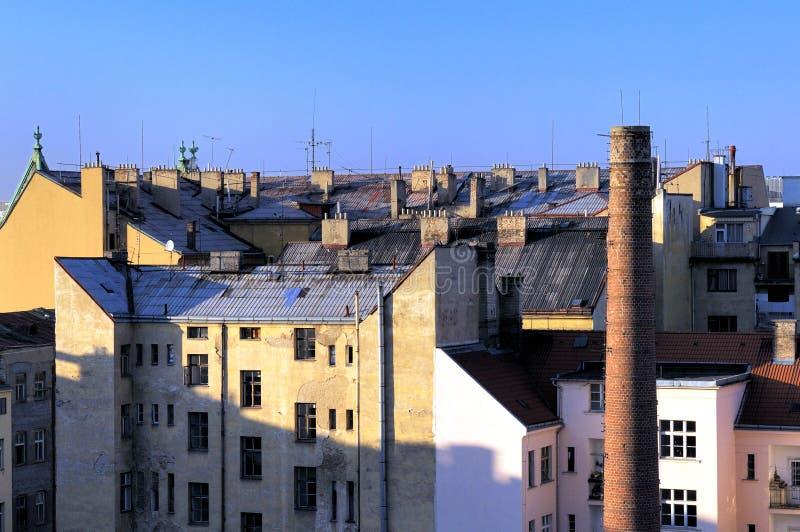 Vieille partie de ville images libres de droits