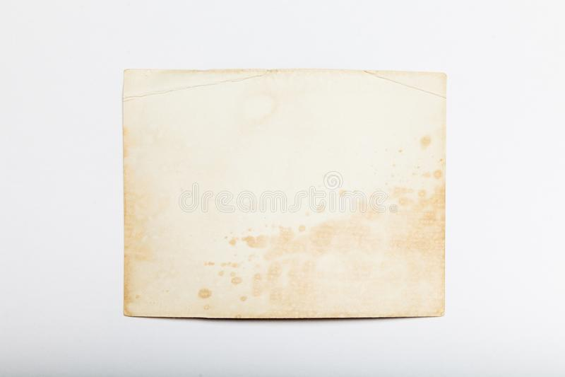 Vieille photo d'album, fond d'image, pile de cadre de cru L'espace de copie pour l'espace photos stock