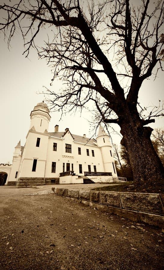 Vieille photo de château photo libre de droits