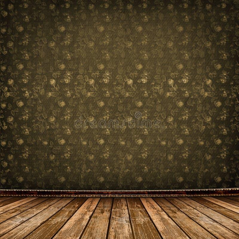 Vieille pièce, intérieur industriel grunge photos stock