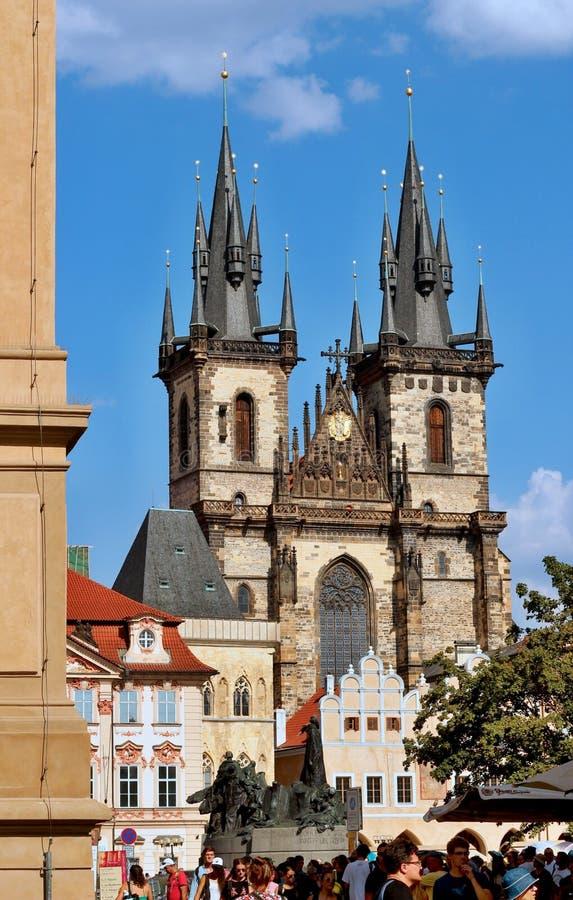 Vieille place à Prague photographie stock libre de droits