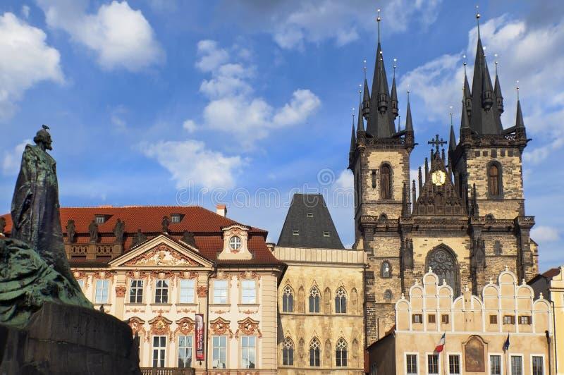 Vieille place à Prague image libre de droits