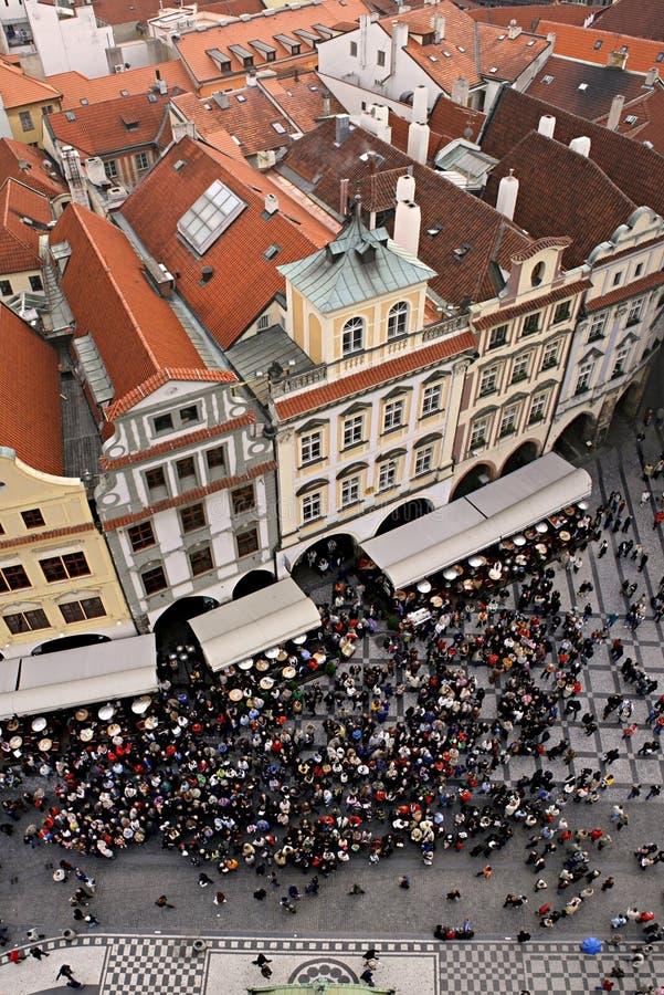 Vieille place de Prague images stock