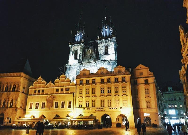 Vieille place - Prague photographie stock