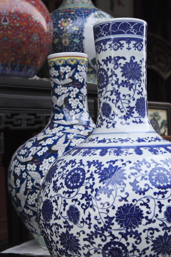 Vieille porcelaine chinoise. images stock