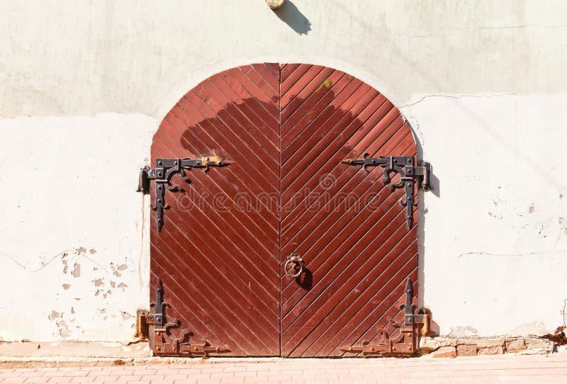 Vieille porte à Riga, Lettonie photographie stock libre de droits
