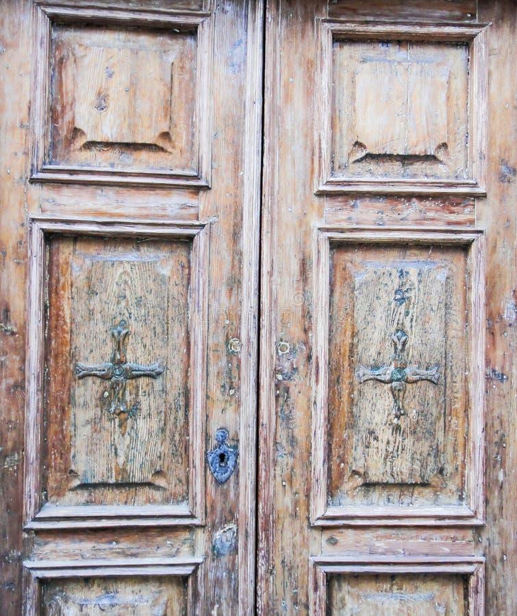 Vieille porte à Zanzibar photos libres de droits