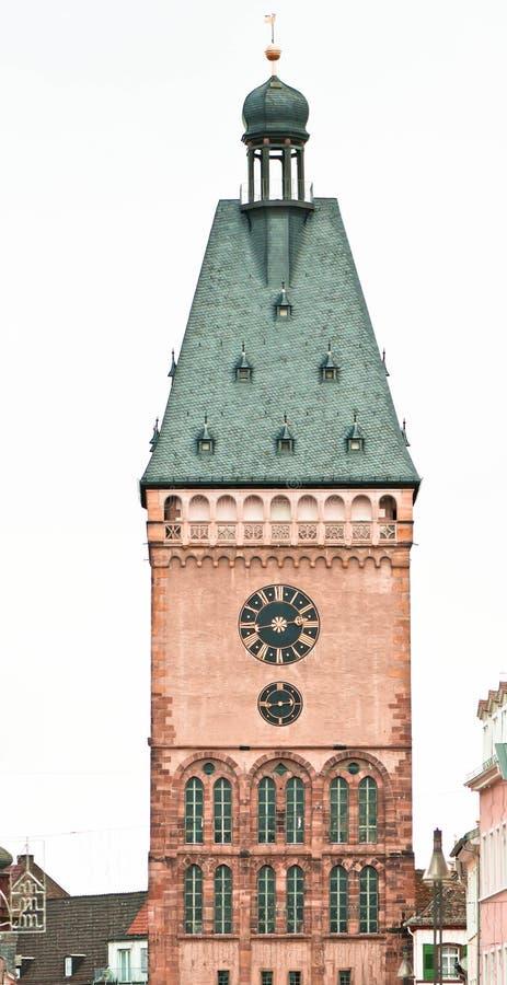 Vieille porte de ville images stock