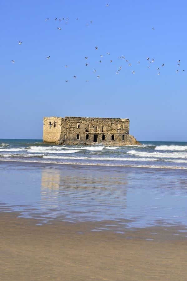 vieille prison dans Tarfaya images stock