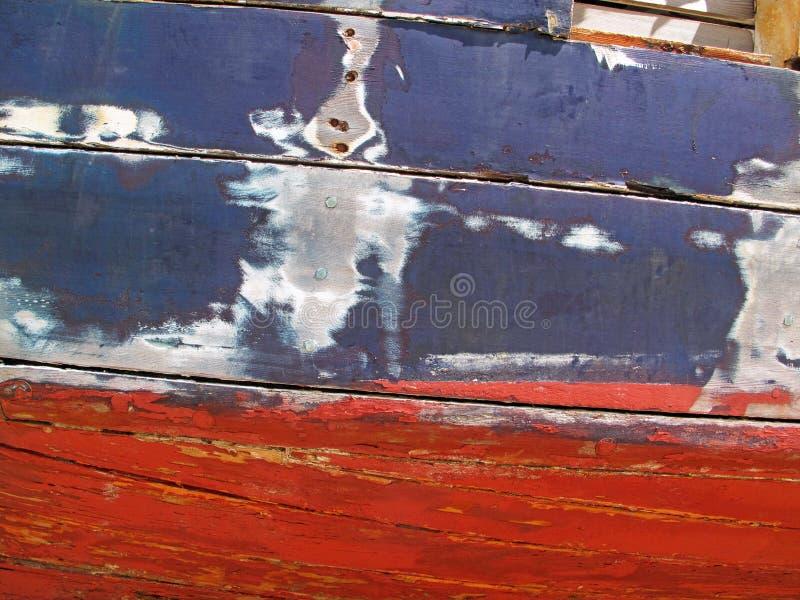Vieille réparation de bateau image libre de droits