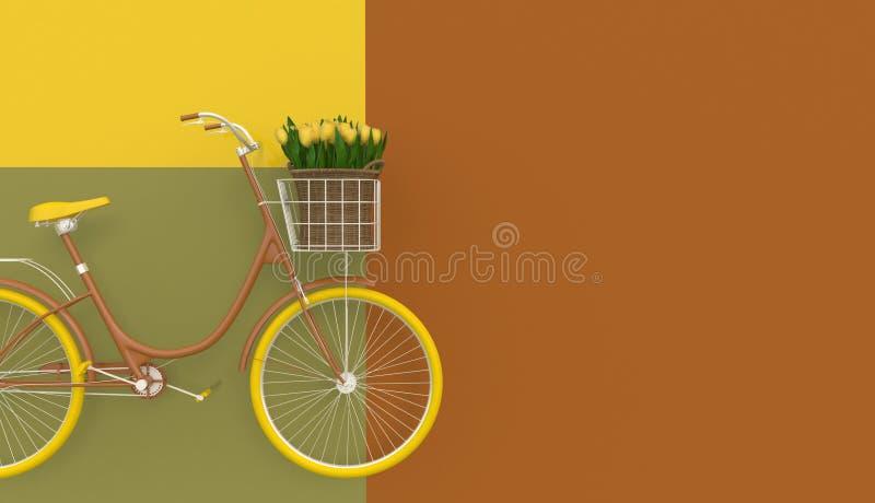 Vieille rétro TV dans des couleurs en pastel sur une position vert clair de fond dans une rangée Type de dessin animé illustratio illustration de vecteur