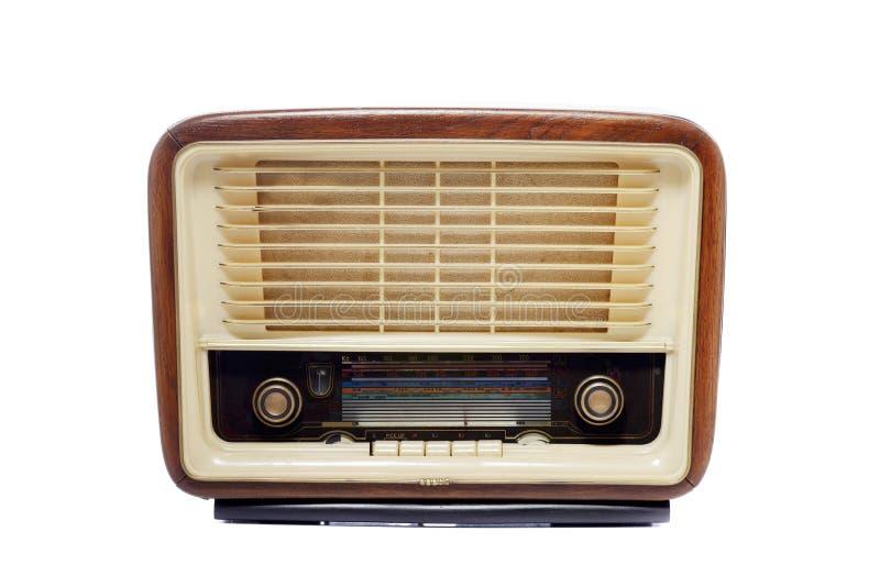 Vieille radio de vintage photos libres de droits