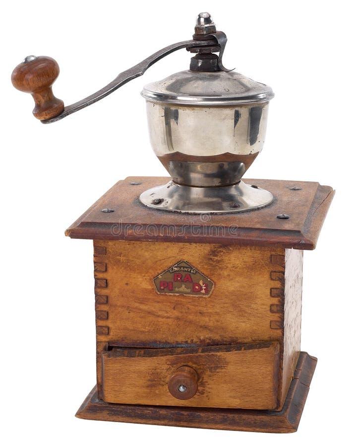 Vieille rectifieuse de café image libre de droits