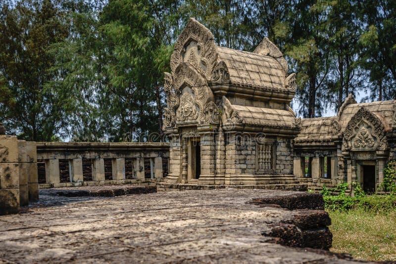 Vieille relique en Thaïlande images stock
