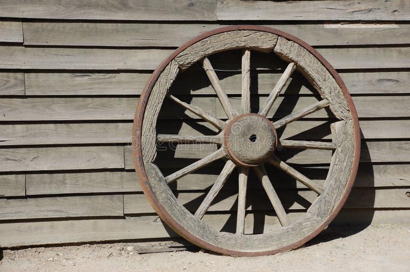 vieille roue en bois photo stock image du bois partie. Black Bedroom Furniture Sets. Home Design Ideas