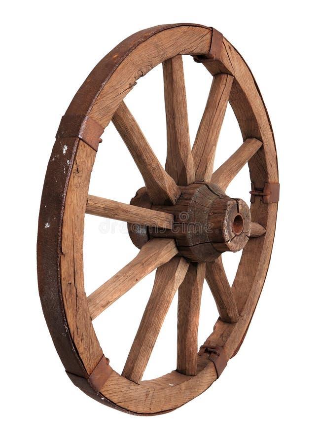 vieille roue en bois image stock image du rond l ment. Black Bedroom Furniture Sets. Home Design Ideas