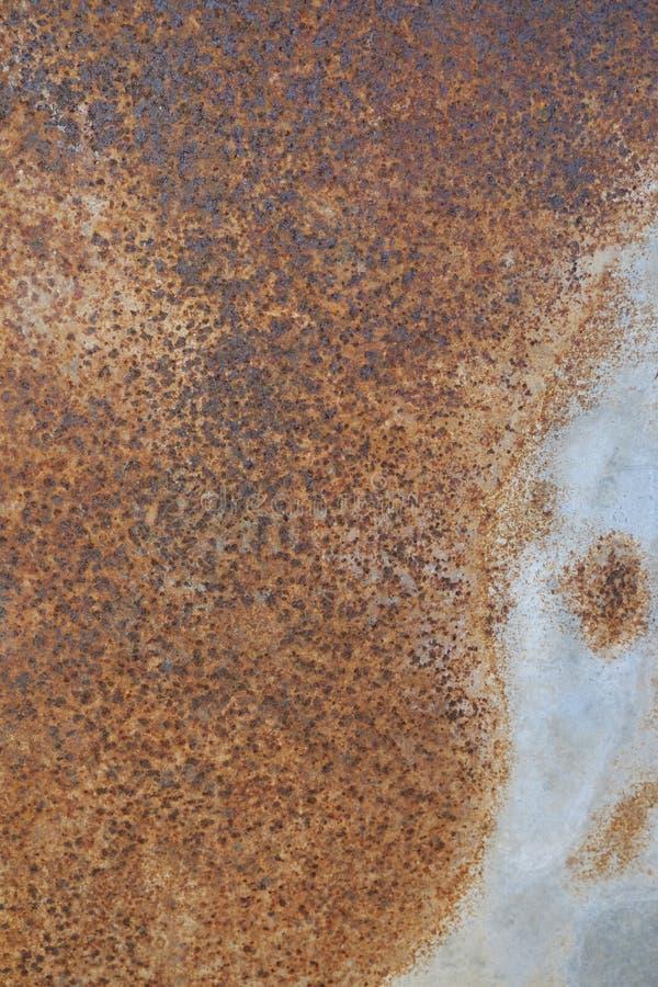 Vieille rouille de fer en métal de fond et de texture photographie stock libre de droits