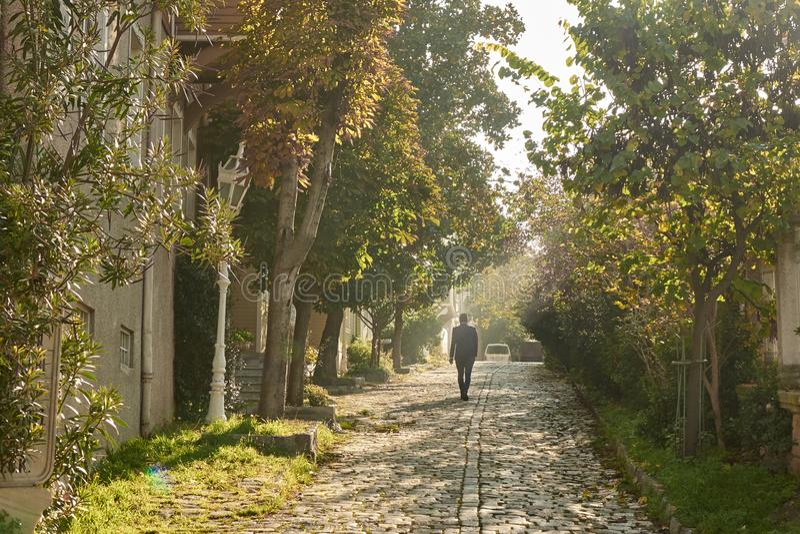 Vieille rue d'Istanbul un jour ensoleillé photos libres de droits