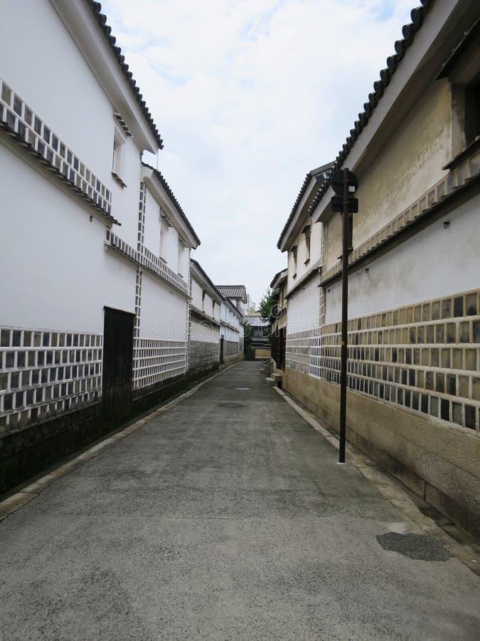 Vieille rue japonaise photographie stock