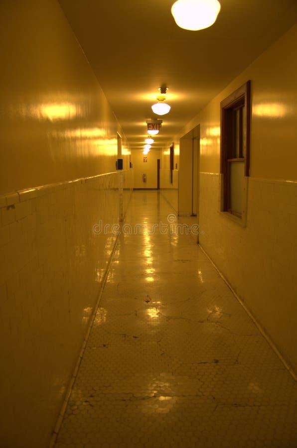 Vieille salle de centre médical photos libres de droits