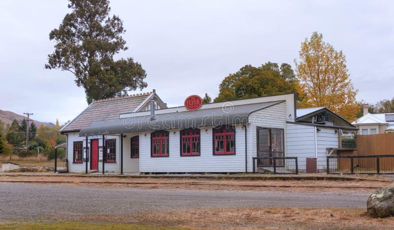 Vieille station de train historique de Kingston près de Queenstown photo stock