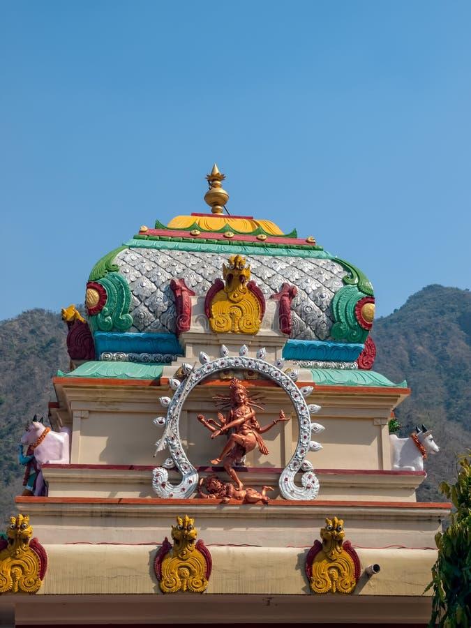 Vieille statue de déesse indienne Kali photographie stock libre de droits