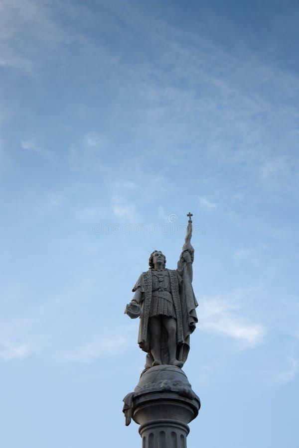 Vieille statue de San Juan photographie stock libre de droits
