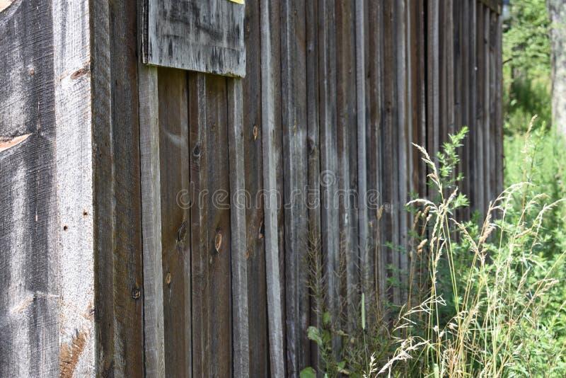 Vieille structure de Barnwood image libre de droits
