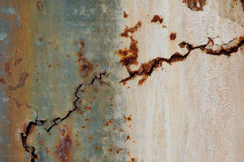 Vieille surface rouillée en métal photo stock