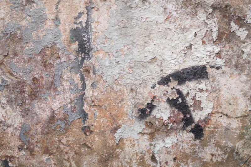 Vieille surface texturisée multicolore de fond grunge photographie stock libre de droits