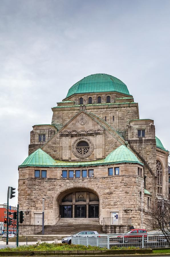 Vieille synagogue, Essen, Allemagne images stock