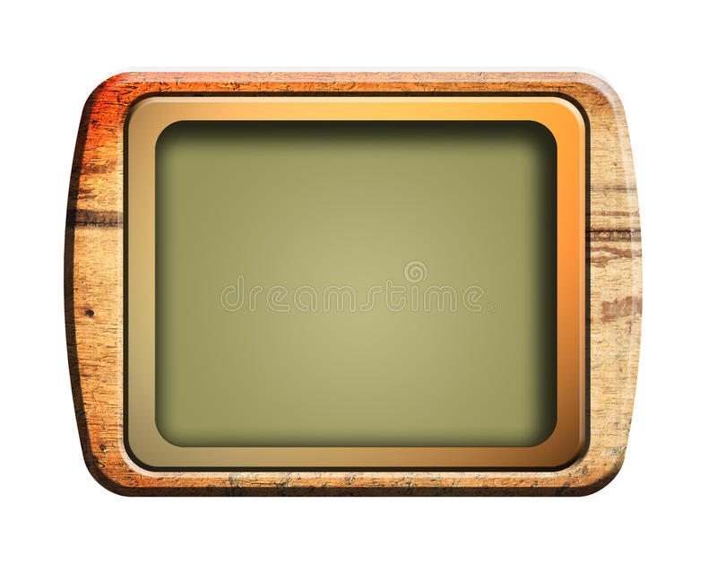 vieille télévision illustration de vecteur
