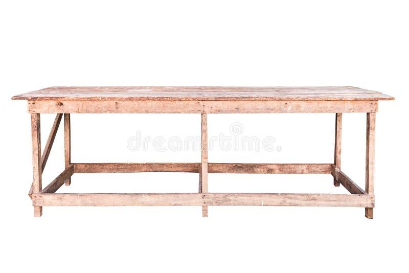 Vieille table en bois simpliste photo stock