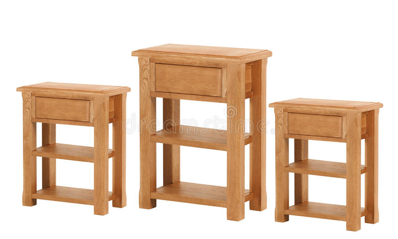 Vieille table ou tabouret en bois images libres de droits