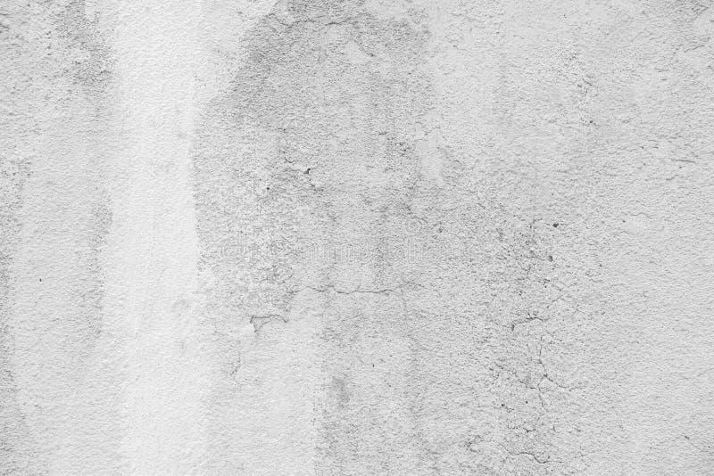 Vieille texture blanche de béton de mur de plâtre photos stock