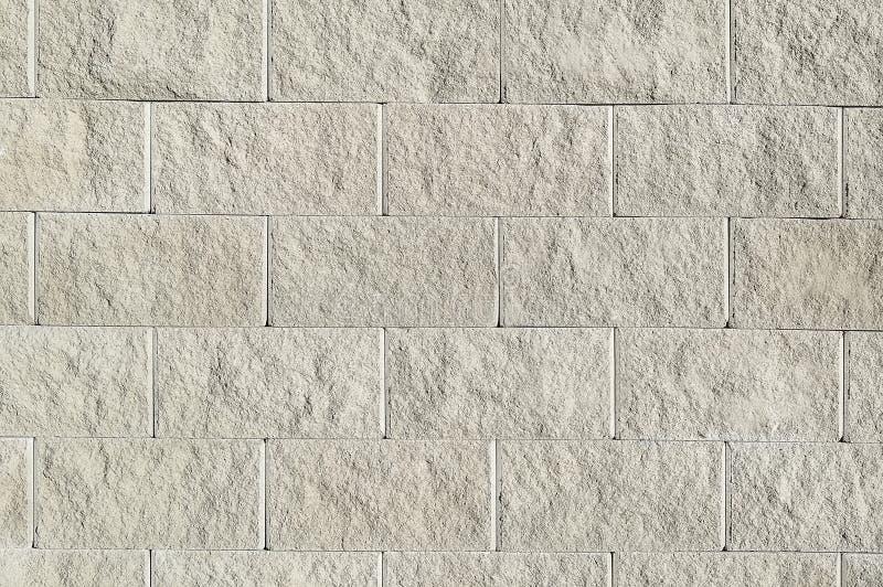 Vieille texture blanche de fond de mur en pierre photo libre de droits