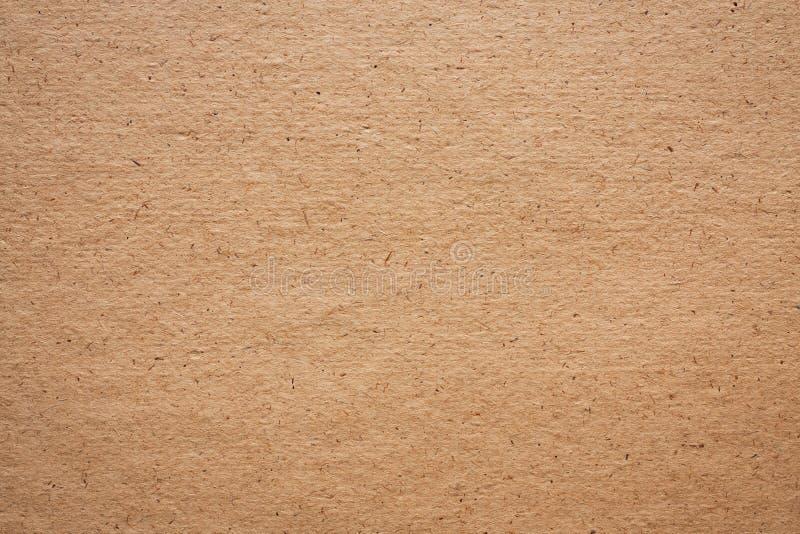 Vieille texture de couleur de Brown de papier photographie stock libre de droits